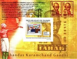 IMPERFORATED. GUINEA 2009. GANDHI. MNH. - República De Guinea (1958-...)