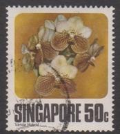 Singapore 352 1979 Orchids 50c, Used - Singapore (1959-...)