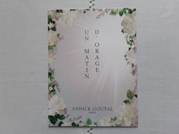 """GOUTAL  Parfum  """" Un Matin D'orage """"  En  ESPAGNOLE   Avec Patch"""" - Cartes Parfumées"""