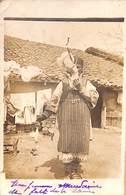 Macédoine - Carte Photo - Travail De La Laine 1918 - Macédoine