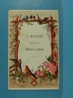 Calendrier De 1886 L.Marceau Imprimeur Châlon-s-Saône /40/ (juillet à Décembre) - Calendars