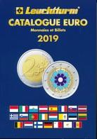 Catalogue EURO Des Monnaies Et Billets 2019 Leuchtturm Nouvelle Edition - EURO