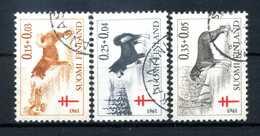 1940 FINLANDIA SET USATO - Finlandia
