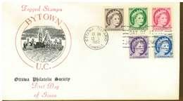 CANADA - SERIE ORDINARIA  - Y 1962 FDC - 1961-1970