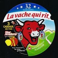 """Etiquette Fromage La Vache Qui Rit  Star Academy 3 Cadeaux De Fan   32 Portions"""" - Käse"""
