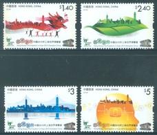 HONG KONG -  MNH/**- 2010 - EXPO  - Yv 1453-1456 -  Lot 18296 - 1997-... Chinese Admnistrative Region