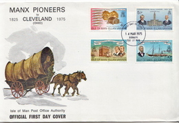 Isle Of Man Set On FDC - Other
