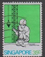 Singapore 405 1981 Technical Training,35c Electronics, Used - Singapore (1959-...)