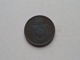 1869 - 20 Reis ( KM 474 ) Uncleaned ! - Brésil