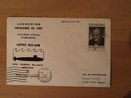 Launching ASPRO SSN-648 November 29, 1967 - Etats-Unis