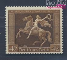 Deutsches Reich 671y (kompl.Ausg.) Postfrisch 1938 Das Braune Band Pferderennen (8291700 - Deutschland