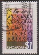 Singapore 410 1981 Sports $ 1.00, Used - Singapore (1959-...)