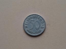 1935 A - 50 Reichspfennig ( KM 87 ) Uncleaned ! - [ 4] 1933-1945 : Third Reich