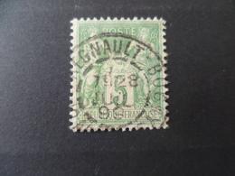 SAGE N° 106  OBLITERE - 1898-1900 Sage (Type III)