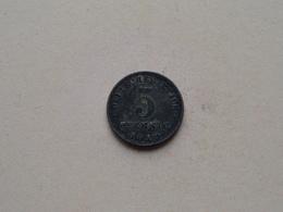 1918 A - 5 Pfennig ( KM 19 ) Uncleaned ! - 5 Pfennig