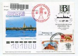 "2008 RUSSIA POSTCARD ""B"" SAINT PETERSBURG VIEW FROM THE NEVA RIVER EMBANKMENT SPP MUSEUM OF SPACE & ROCKET V.GLUSHKO - Russia & USSR"