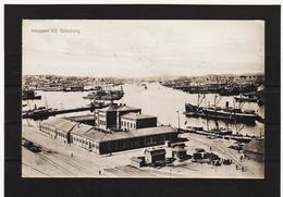 LKW566 KARTE POSTALE JAHR 1907 INLOPPET TILL GÖTEBORG GEBRAUCHT SIEHE ABBILDUNG - Schweden