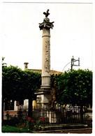 """CPSM - 85 - VENDEE - SAINT MICHEL EN L'HERM """" Place De La Mairie Et Le Monument Aux Morts """" - Saint Michel En L'Herm"""
