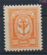 Memelgebiet 158 Avec Charnière 1923 Port Memel (9258403 (9258403 - Klaïpeda