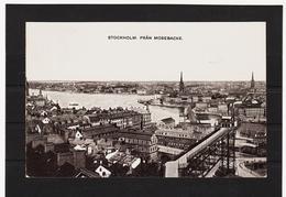 LKW568 KARTE POSTALE JAHR 1907 STOCKHOLM FRAN MOSEBACKE GEBRAUCHT SIEHE ABBILDUNG - Schweden