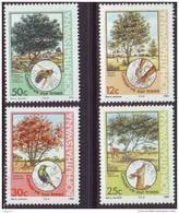 D90819 Bophuthatswana South Africa 1985 TREES BEES HUMMING BIRD MNH Set - Afrique Du Sud Afrika RSA Sudafrika - Bophuthatswana