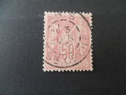 SAGE N° 98  OBLITERE   PARIS  STE CECILE - 1876-1898 Sage (Type II)