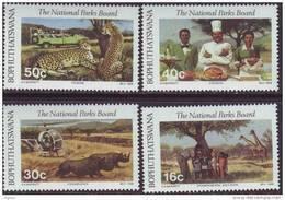 D90819 Bophuthatswana South Africa 1988 CHEETAH RHINO MNH Set - Afrique Du Sud Afrika RSA Sudafrika - Bophuthatswana