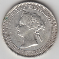 @Y@    Ceylon   25 Cents  1893   (4755) - Sri Lanka