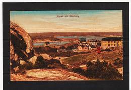 LKW570 KARTE POSTALE JAHR 1909 STYRSÖ VID GÖTEBORG GRAND HOTEL GEBRAUCHT SIEHE ABBILDUNG - Schweden