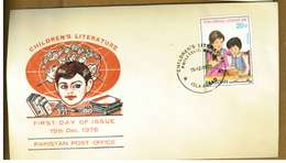 PAKISTAN - LETTERATURA PER RAGAZZI - Y 1976 FDC - Pakistan
