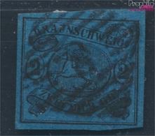 Braunschweig 7a Pracht Gestempelt 1855 Wappen (7783277 - Brunswick