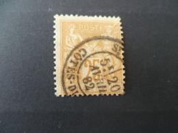 SAGE N° 92  OBLITERE - 1876-1898 Sage (Type II)