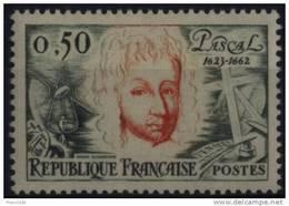 N° 1344 - X X - ( F 508 ) - ( Blaise Pascal ) - France