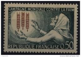N° 1379 - X X - ( F 520 ) - ( Campagne Mondiale Contre La Faim ) - France