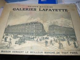 Jeu Du Métro Offert Par Les Galeries Lafayette - Publicités