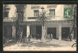 CPA Setif, L'Hotel De France - Setif