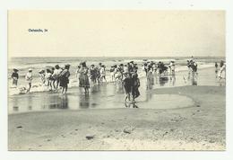 Oostende   *  Enfants Sur La Plage (Kinderen - Strandspelen Anno 1900) - Oostende