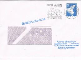 30657. Carta BURGHAUSEN. (Alemania Federal) 1988. In Der Salzach. Castillo - [7] República Federal