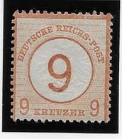 Allemagne N°29 - Neuf * Avec Charnière - Petite Adhérence Sinon TB - Ungebraucht