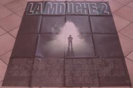 AFFICHE CINEMA ORIGINALE FILM LA MOUCHE 2 Chris WALAS Eric STOLTZ EPOUVANTE HORREUR TBE 1989 - Affiches & Posters