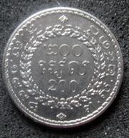Monnaie Du Cambodge 200 Riels - Cambodge