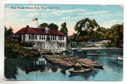 Etats Unis. Boat House, Bronx Park, New York City. Coins émoussés - Bronx