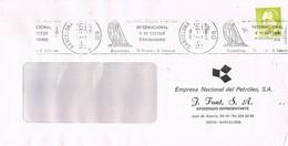 30661. Carta BARCELONA 1987. Rodillo 25 Aniversario Salon NAUTICO Y CARAVANING - 1931-Hoy: 2ª República - ... Juan Carlos I