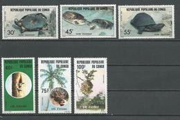 CONGO Scott 655-657, 659-661 Yvert 684-686, 688-690 (6) ** Cote 7,60 $ 1982 - Congo - Brazzaville