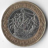 United Kingdom 2011 £2 Mary Rose Commemorative [C815/2D] - 1971-… : Decimal Coins