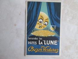 Pates La Lune . Bozon Verduraz - Publicité