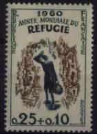 N° 1253 - X X - ( F 460 ) - ( Année Mondial Du Réfugié ) - Frankreich