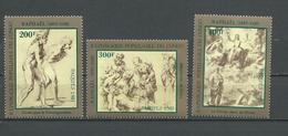 CONGO Scott 673-675 Yvert 702-704 (3) ** Cote 9,75 $ 1983 - Congo - Brazzaville