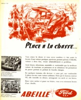 "PUB  "" ABEILLE  "" ( FORD ) 1952 - Transports"