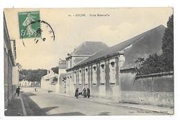 Luçon  (cpa 85)  Ecole Maternelle  ## RARE  ##    -  L 1 - Lucon